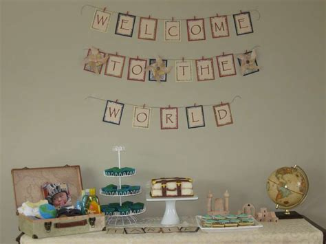 welcome to the world baby shower welcome to the world baby shower party ideas photo 1 of