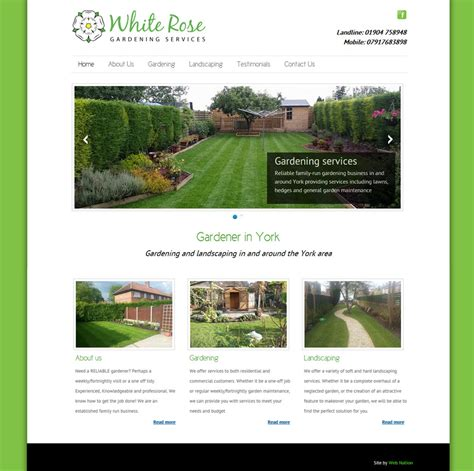 garden design websites web design for gardeners