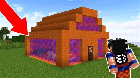 prendi casa prendi meu amigo na casa feita de portais no minecraft