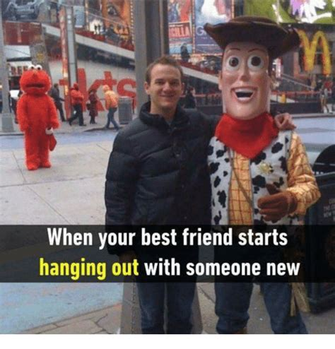When Your Best Friend Starts Hanging Out With Someone New