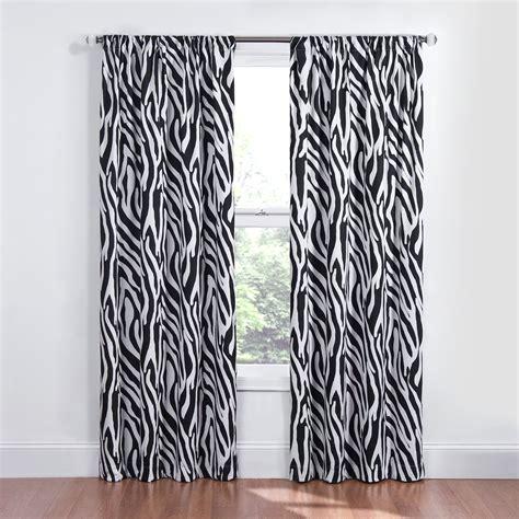 zebra print curtains animal print curtains new brown zebra animal print draps
