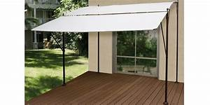 Tonnelle Pour Balcon : tonnelle adossable loggia 2x3m auvent oogarden france ~ Premium-room.com Idées de Décoration