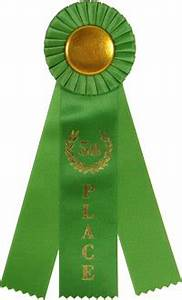 5th Place Triple Streamer Rosette Ribbon | Rosette Award ...