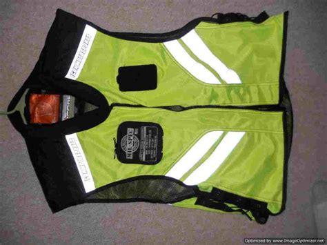Hd Reflective Skull Leather Vest & Mil Spec Safety Vest