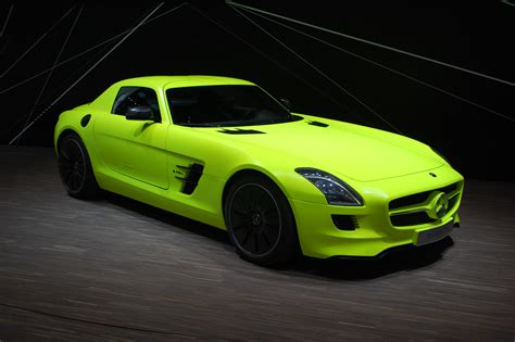 The c63 s makes 503 hp, just like the amg gt s, with even more torque: Mercedes SLS AMG E-Cell: Tech Behind The Electric Supercar