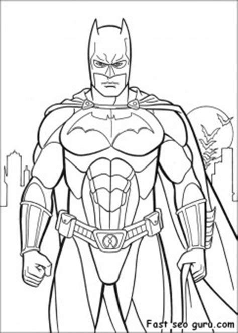 printable batman costume arkham city coloring  sheet  kids coloring pages printable