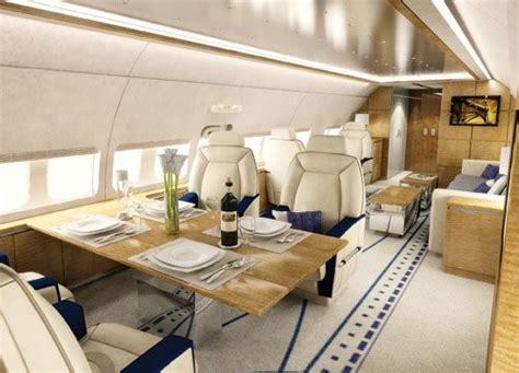 opulent  plush private jet interiors bored art