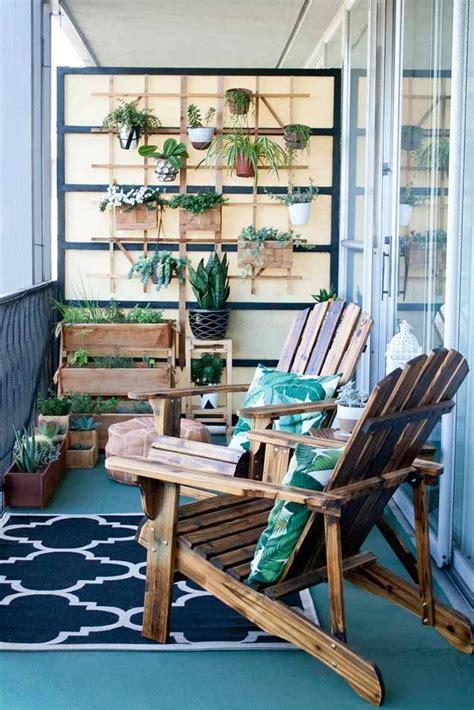 Décoration Balcon 99 Idées Aménagement Petits Espaces