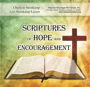 Hope and Encouragement Scriptures