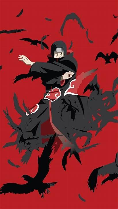Itachi Kakashi Naruto Wallpapers Anime Mobile Minimalist
