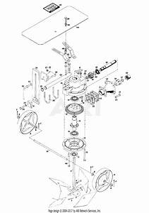 Gravely 43902 Rotary Plow 2 Wheel Tractor Parts Diagram