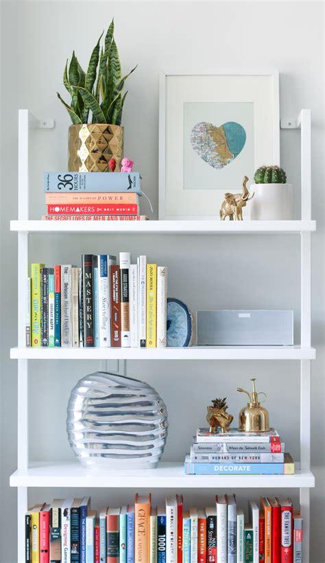 5 Tips For Styling Bookshelves Pretty Fun