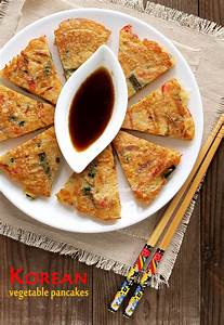 Korean Vegetable Pancakes Food 4Tots Recipes for Toddlers