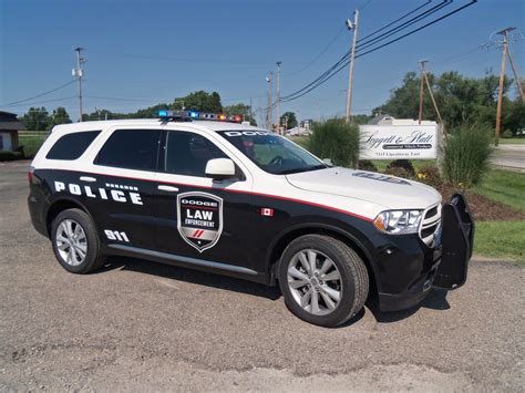Dodge Durango Police Special Service Vehicle At Crown
