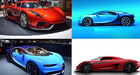 Bugatti chiron vs the world's greatest hypercars. Bugatti Chiron Vs Koenigsegg Regera: Poll Battle Of The ...