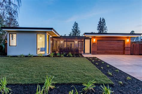 mission style house plans modern homes