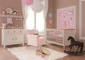 idee de decoration pour chambre de bebe fille visuel 7 With idee de chambre de fille
