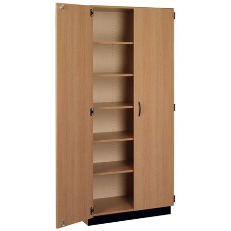 tall cabinet with shelves stevens 83129 x84 tall storage cabinet with doors schoolsin