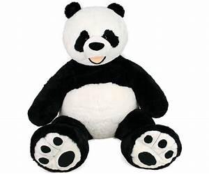 Peluche Géante Panda : peluche panda geant 150 cm plushtoy ~ Teatrodelosmanantiales.com Idées de Décoration