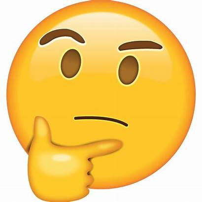 Emoji Thinking Face Mean Does