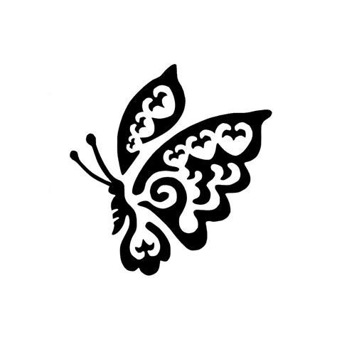Pochoir Papillon Pour Tatouage Temporaire