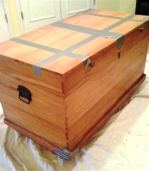 diy outdoor cedar storage chest plans wooden  wood