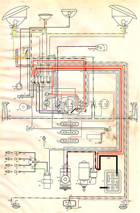 Bus Wiring Diagram Thegoldenbug