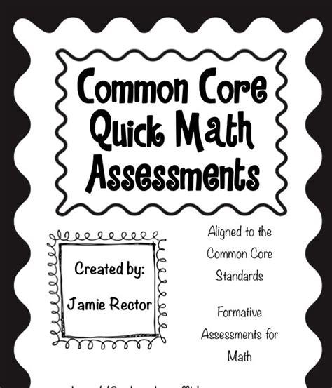 2nd Grade Stuff Common Core Math Assessments