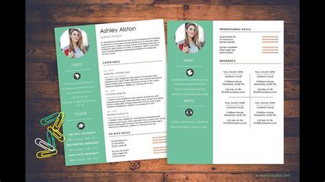 create cv resume  ms word