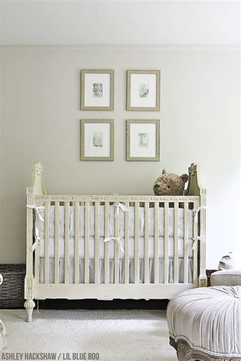 restoration hardware crib neutral nursery decor ideas restoration hardware inspired