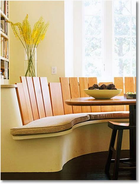 Banquette, Booth, or Built In? Cool Kitchen Table Seating