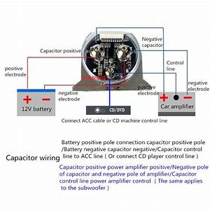 Wiring Diagram For Amp And Capacitor