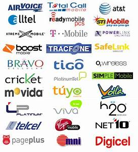 Image Gallery mobile phone company logos