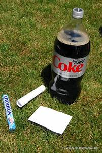 Day 217 Optimism With Diet Coke And Mentos Character