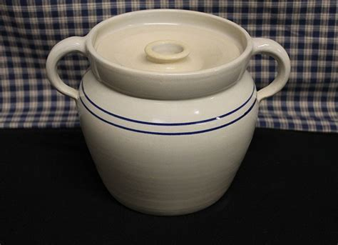 USA Made Pottery, Baked Bean, Stew, Stoneware Cooking Crock