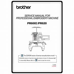 Service Manual  Brother Pr