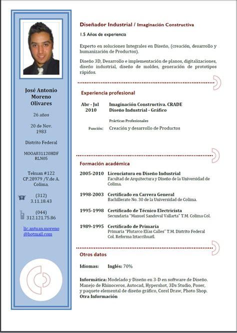 Formato De Resume by Plantillas De Curriculum Vitae Related Keywords Plantillas De Curriculum Vitae