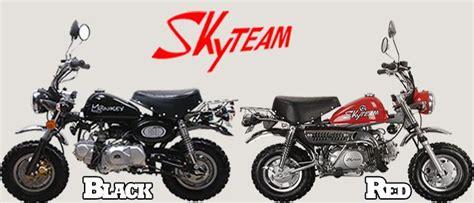 honda monkey nachbau skyteam st50 8 50ccm monkey nachbau pocket bike dirtbike