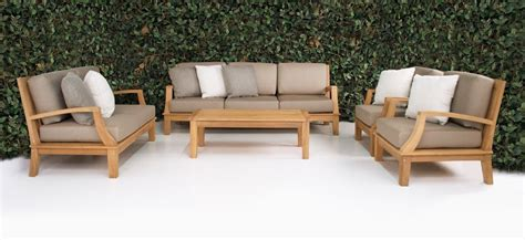 westminster teak outdoor furniture collection design