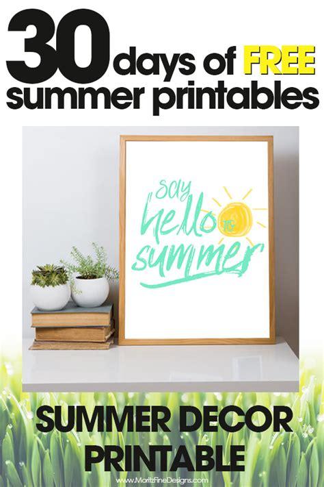 bathroom design template summer decor printable free summer printables day 28