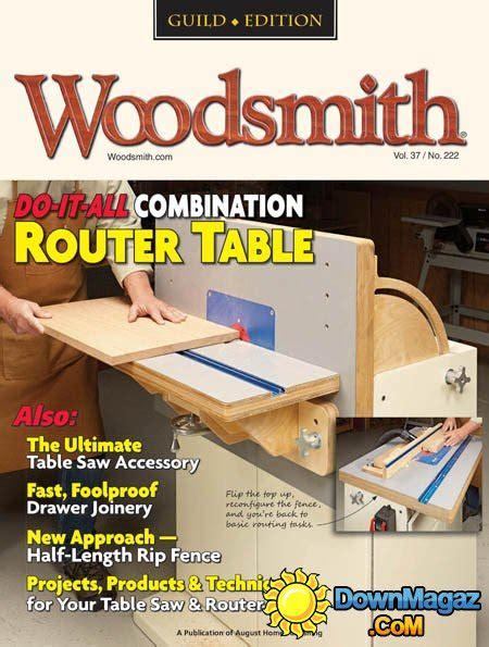 woodsmith december january