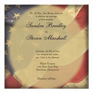 military and patriotic themed wedding invitations images With weight of wedding invitation paper