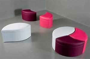 Pouf Pour Salon : poufs design decoration interieur ~ Premium-room.com Idées de Décoration