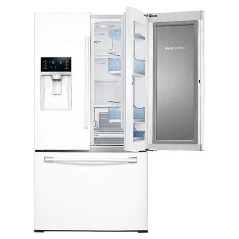 white door refrigerator rf28hdedpww samsung 35 3 4 quot 28 cu ft 3 door
