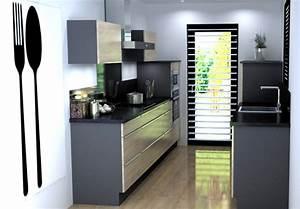 l39implantation parallele pour votre cuisine you With plan cuisine en parall le