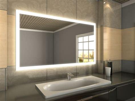 badspiegel led hinterleuchtet led badspiegel nach ma 223 perfekt beleuchteter badezimmerspiegel