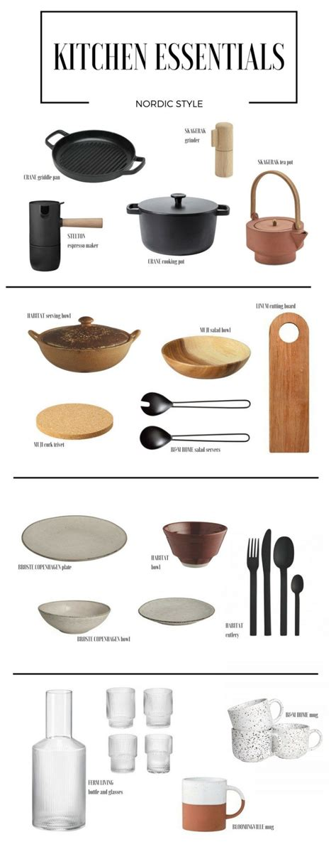 kitchen essentials nordic style domashniy dizayn