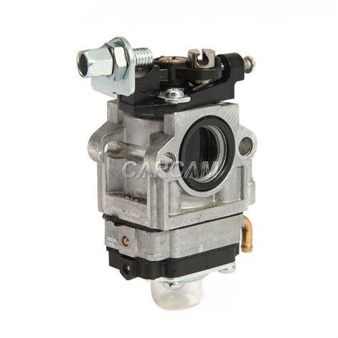 carb carburetor for 43cc 49cc 2 stroke engine pocket bike 15mm intake in carburetor from