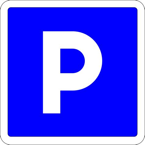 Parking sign - Wikimedia Commons