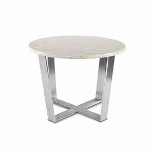 phebe round coffee table stainless steel legs apex With round coffee table with metal legs